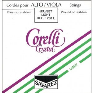 Savarez (634550) Corelli struny do altówki Crystal Light 731L