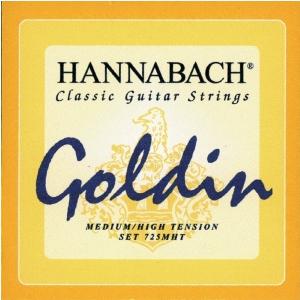 Hannabach (652729) 725MHT struny do gitary klasycznej (medium/heavy) - Komplet 3 strun basowych