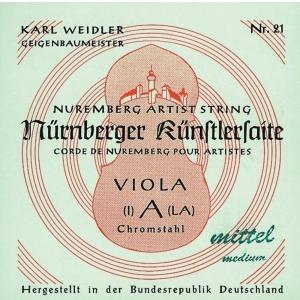 Nurnberger (635604) struna do altówki Kunstler Rope Core - D (22)