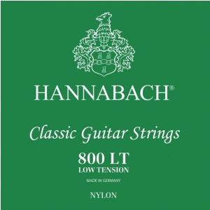 Hannabach (652369) E800 LT struny do gitary klasycznej (low) - Komplet 3 strun Diskant