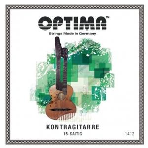 Optima (659052) struna do gitary basowej (typu Schrammel) - D8
