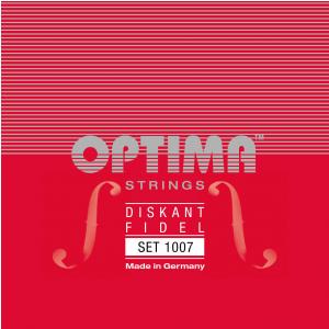Optima (645057) struny skrzypcowe Stal - Set - 1007