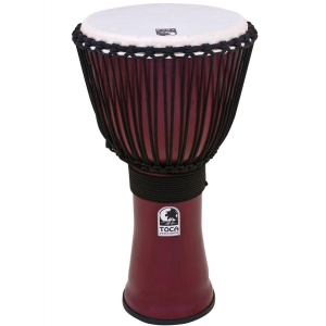 Toca (TO809286) Djembe Freestyle II Rope Tuned Dark Red