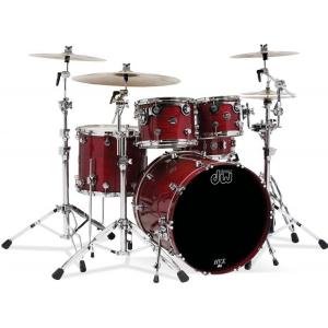Drum Workshop Zestaw bębnów Performance Lakierowany Cherry Stain
