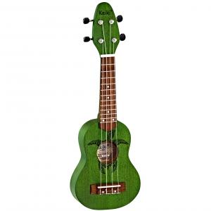 Ortega K1-GR Keiki ukulele sopranowe, kolor Forest Green