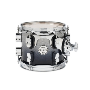 PDP (PD806208) Tom Tomy Silver to Black Sparkle Fade