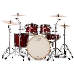 Drum Workshop Zestaw bębnów Cherry Stain