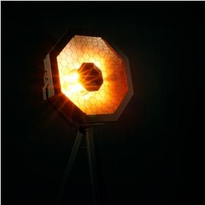 Flash Pro (b-stock) OCTO HELIOS1 4x30W 4in1 COB RGBW 4 SECTIONS mk2 - reflektor LED - retro, vintage