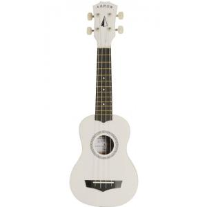 Arrow PB10 WH ukulele sopranowe z pokrowcem