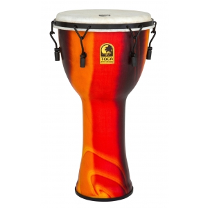 Toca (TO803239) Djembe Freestyle Mechanically Tuned African Sunset