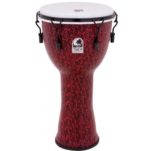 Toca (TO809240) Djembe Freestyle II Mechanically Tuned Red Mask