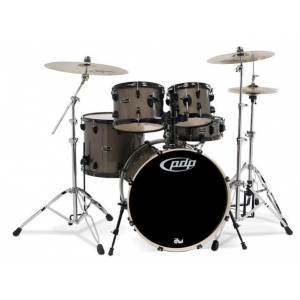 PDP (PD802608) Drumset MAINSTAGE, Bronze Metallic Black HW