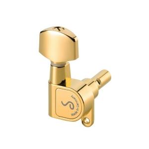 Schaller (SC5024460120) Klucze gitarowe M6 180 6 lewych Gold