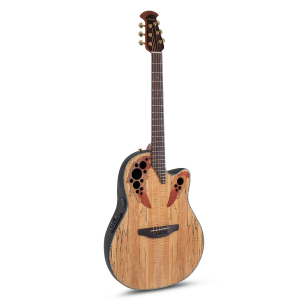 Ovation CE44P-SM Celebrity Elite Plus Mid Cutaway Natural Spalted Maple Gitara elektroakustyczna