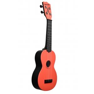 Kala KA-SWB-RD Waterman, ukulele sopranowe z pokrowcem, czerwony