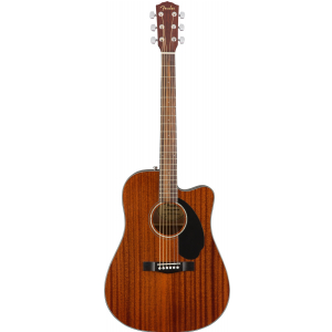 Fender CD-60SCE Dreadnought Al Mahogany WN gitara  (...)