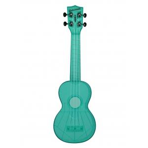 Kala KA-SWF-BL Waterman, ukulele sopranowe z pokrowcem, fluorescencyjny zielony