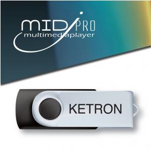 Ketron Pendrive 2016 MidJPro  Style Upgrade v3 - pendrive z dodatkowymi stylami