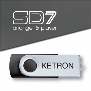 Ketron Pendrive 2016 SD7 Style Upgrade v3 - pendrive z  (...)