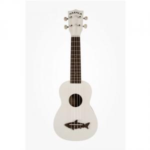 Kala Makala Shark Soprano White ukulele sopranowe