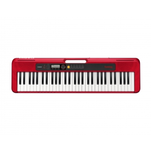 CASIO CT S 200 RD keyboard, kolor czerwony