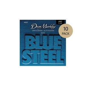 Dean Markley 2552 Blue Steel LT struny do gitary elektrycznej 9-42, 10-pack