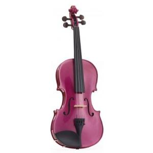 Stentor 1401RPF skrzypce 1/4  Harlequin, zestaw, różowy