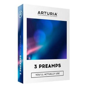 Arturia 3 Preamps oprogramowanie muzyczne