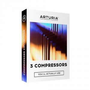 Arturia 3 Compressors oprogramowanie muzyczne