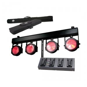 American DJ Dotz TPAR System - zestaw 4 szt. reflektorów  (...)