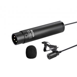 BOYA BY-M4OD Mikrofon krawatowy XLR- pojemnościowy-  (...)