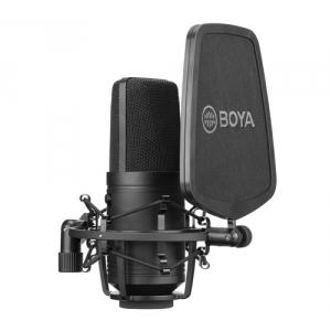 BOYA BY-M800 wielkomembranowy mikrofon pojemnościowy