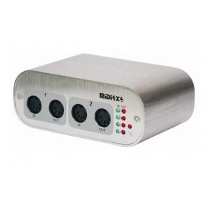 Midiplus MIDI 4x4 interfejs audio USB