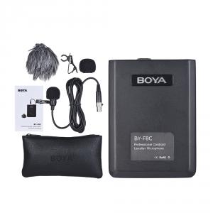 BOYA BY-F8C mikrofon kardioidalny typu wideo, instrumentalny, lavalier