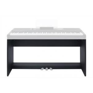 THE ONE MJ00 drewniany statyw z pedałami dla Smart Keyboard Pro (czarny)