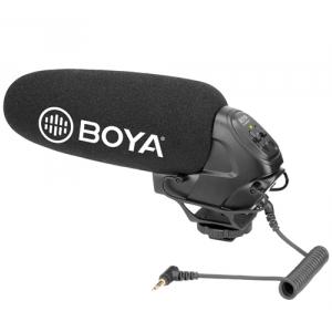 BOYA BY-BM3031 superkardioidalny mikrofon typu shotgun