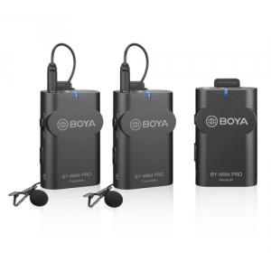 BOYA BY-WM4 PRO-K2 zestaw bezprzewodowy do kamer z dwoma  (...)