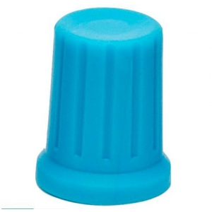 DJ TECHTOOLS Chroma Caps Encoder Thin pokrętło  (niebieskie)