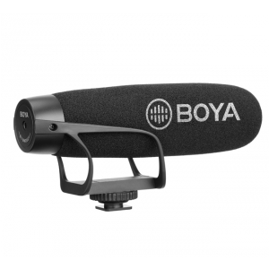 BOYA BY-BM2021 Superkardioidalny mikrofon typu shotgun do  (...)