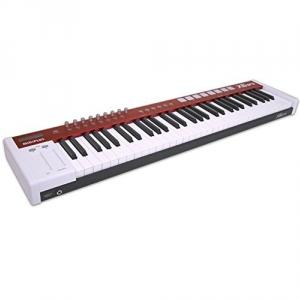 Midiplus X6 PRO Klawiatura sterująca - kontroler USB/MIDI z półważoną  klawiaturą
