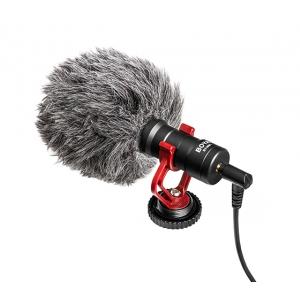 BOYA BY-MM1 Mikrofon kardioidalny do smartfonów, kamer,  (...)