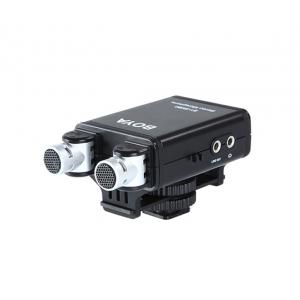 BOYA BY-SM80 mikrofon stereo XY do kamer i lustrzanek