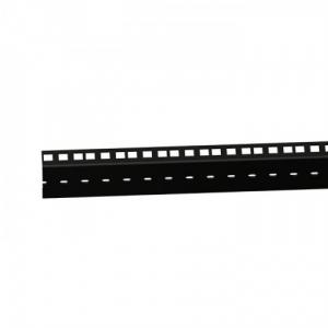 Adam Hall Parts 61555 BLK - Szyna rack, podwójna, czarna, 45U