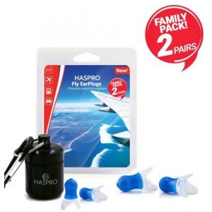 Haspro Fly Family Pack Universal zatyczki do uszu (para)