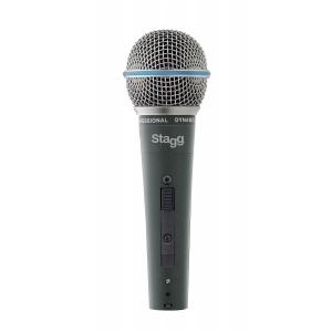 Stagg SDM 60 mikrofon dynamiczny z wyłącznikiem