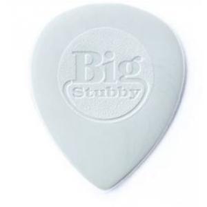 Dunlop 445R Nylon Big Stubby kostka gitarowa 1.0mm szara