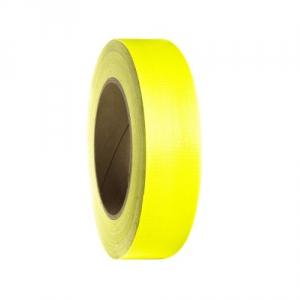 Adam Hall Accessories 58065 NYEL - Taśma klejąca Gaffer, żółta neonowa, 38mm x 25 m
