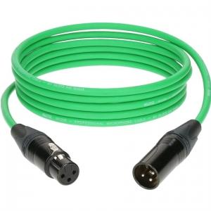 Klotz przewód mikrofonowy 2m zielony