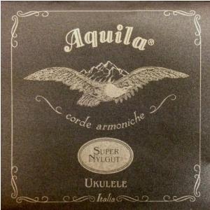 Aquila Super Nylgut struny do ukulele, GCEA Soprano, wound high-G
