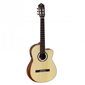 Ortega Striped Suite CE gitara elektroklasyczna z pokrowcem